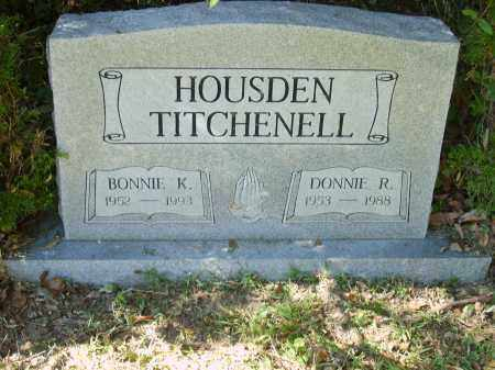 TITCHENELL, DONNIE - Gallia County, Ohio | DONNIE TITCHENELL - Ohio Gravestone Photos