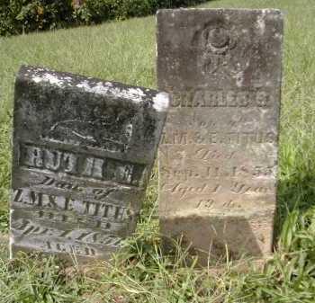 TITUS, CHARLES - Gallia County, Ohio   CHARLES TITUS - Ohio Gravestone Photos