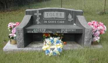 THOMAS TOLER, DOROTHY - Gallia County, Ohio | DOROTHY THOMAS TOLER - Ohio Gravestone Photos