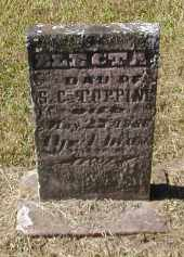 TOPPING, ELECTA - Gallia County, Ohio | ELECTA TOPPING - Ohio Gravestone Photos