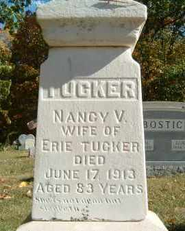 TUCKER, NANCY V. - Gallia County, Ohio | NANCY V. TUCKER - Ohio Gravestone Photos