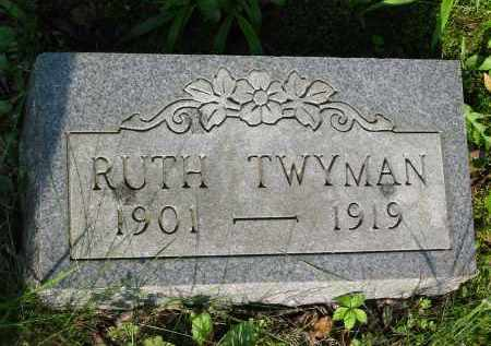 TWYMAN, RUTH - Gallia County, Ohio | RUTH TWYMAN - Ohio Gravestone Photos