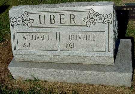 UBER, OLIVELLE - Gallia County, Ohio | OLIVELLE UBER - Ohio Gravestone Photos