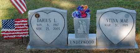 UNDERWOOD, VELVA MAE - Gallia County, Ohio   VELVA MAE UNDERWOOD - Ohio Gravestone Photos