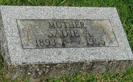UNKNOWN, SADIE A - Gallia County, Ohio   SADIE A UNKNOWN - Ohio Gravestone Photos
