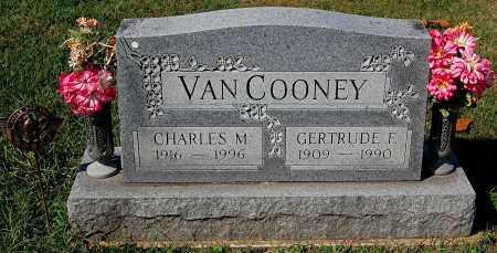 VAN COONEY, CHARLES M - Gallia County, Ohio   CHARLES M VAN COONEY - Ohio Gravestone Photos