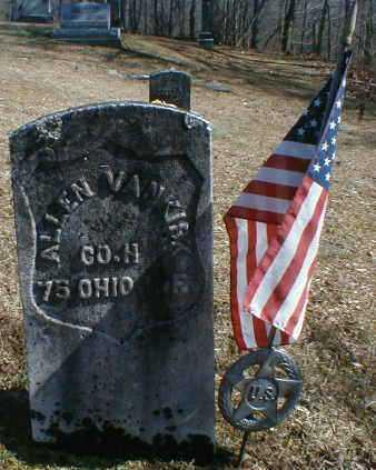 VAN KIRK, ALLEN - Gallia County, Ohio | ALLEN VAN KIRK - Ohio Gravestone Photos