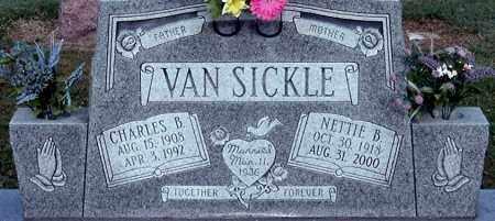 VAN SICKLE, CHARLES B (CLOSE-UP) - Gallia County, Ohio | CHARLES B (CLOSE-UP) VAN SICKLE - Ohio Gravestone Photos