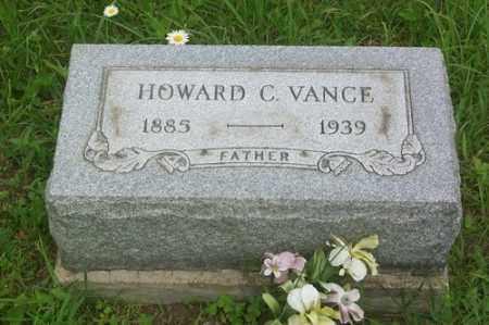 VANCE, HOWARD C. - Gallia County, Ohio | HOWARD C. VANCE - Ohio Gravestone Photos
