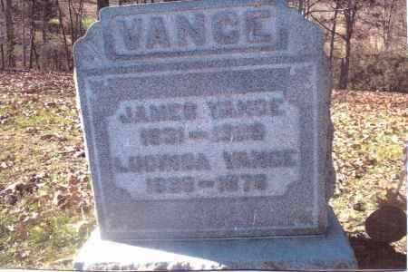 VANCE, JAMES - Gallia County, Ohio | JAMES VANCE - Ohio Gravestone Photos