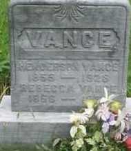 VANCE, REBECCA - Gallia County, Ohio | REBECCA VANCE - Ohio Gravestone Photos