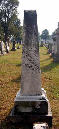 VANGILDER, CAROLINE - Gallia County, Ohio | CAROLINE VANGILDER - Ohio Gravestone Photos