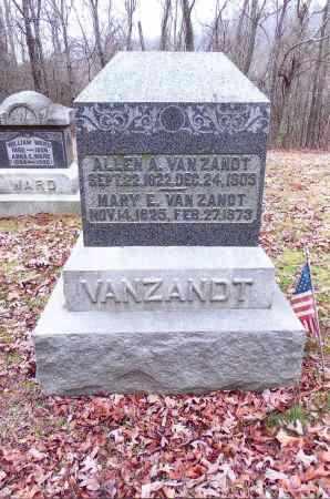 VANZANDT, ALLEN A. - Gallia County, Ohio | ALLEN A. VANZANDT - Ohio Gravestone Photos