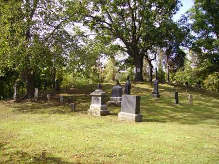 VAN ZANT CEMETERY, OVERALL VIEW 1 - Gallia County, Ohio   OVERALL VIEW 1 VAN ZANT CEMETERY - Ohio Gravestone Photos