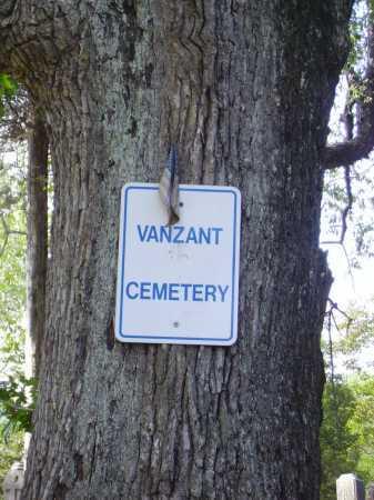 VANZANT CEMETERY, SIGN - Gallia County, Ohio | SIGN VANZANT CEMETERY - Ohio Gravestone Photos