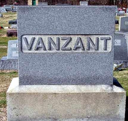 VANZANT, FAMILY MONUMENT - Gallia County, Ohio | FAMILY MONUMENT VANZANT - Ohio Gravestone Photos