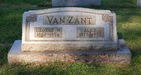 VANZANT, GEORGE W - Gallia County, Ohio | GEORGE W VANZANT - Ohio Gravestone Photos