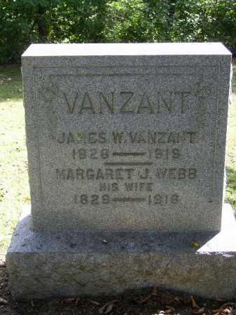 VANZANT, JAMES W. - Gallia County, Ohio | JAMES W. VANZANT - Ohio Gravestone Photos