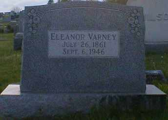 VARNEY, ELEANOR - Gallia County, Ohio | ELEANOR VARNEY - Ohio Gravestone Photos