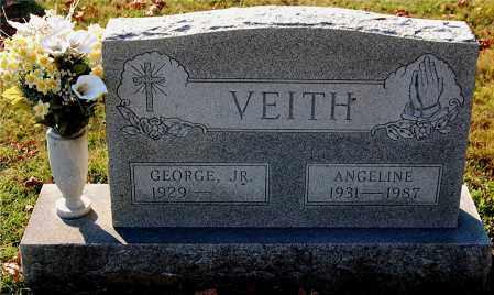 VEITH, GEORGE - Gallia County, Ohio   GEORGE VEITH - Ohio Gravestone Photos