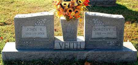VEITH, JOHN R - Gallia County, Ohio | JOHN R VEITH - Ohio Gravestone Photos
