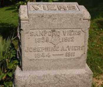 VIERS, SANFORD - Gallia County, Ohio | SANFORD VIERS - Ohio Gravestone Photos