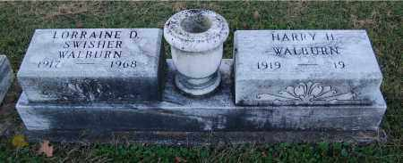 SWISHER WALBURN, LORRAINE D - Gallia County, Ohio | LORRAINE D SWISHER WALBURN - Ohio Gravestone Photos