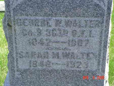 WALTER, GEORGE W. - Gallia County, Ohio | GEORGE W. WALTER - Ohio Gravestone Photos