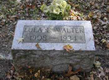 WALTER, LULA - Gallia County, Ohio | LULA WALTER - Ohio Gravestone Photos