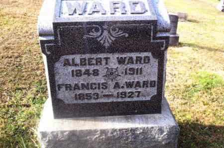 VANCE WARD, FRANCIS A. - Gallia County, Ohio | FRANCIS A. VANCE WARD - Ohio Gravestone Photos