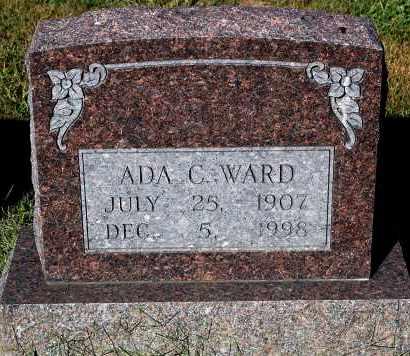 WARD, ADA C - Gallia County, Ohio   ADA C WARD - Ohio Gravestone Photos