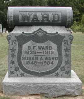 WARD, SUSAN - Gallia County, Ohio   SUSAN WARD - Ohio Gravestone Photos