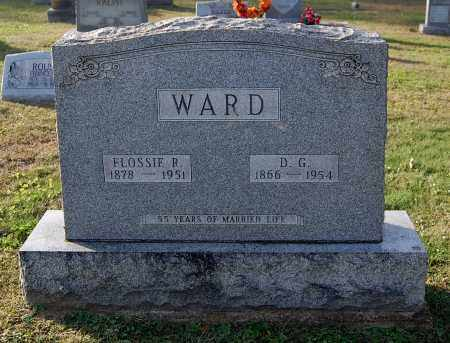 WARD, FLOSSIE ROSE - Gallia County, Ohio | FLOSSIE ROSE WARD - Ohio Gravestone Photos