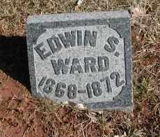 WARD, EDWIN S. - Gallia County, Ohio | EDWIN S. WARD - Ohio Gravestone Photos