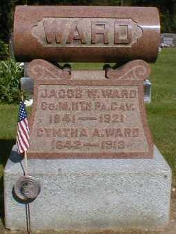 WARD, CYNTHA - Gallia County, Ohio | CYNTHA WARD - Ohio Gravestone Photos