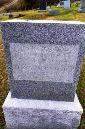 WARD, LORENZO DOW - Gallia County, Ohio | LORENZO DOW WARD - Ohio Gravestone Photos