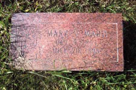WARD, MARY - Gallia County, Ohio   MARY WARD - Ohio Gravestone Photos