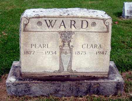 HANSHER WARD, CLARA - Gallia County, Ohio | CLARA HANSHER WARD - Ohio Gravestone Photos
