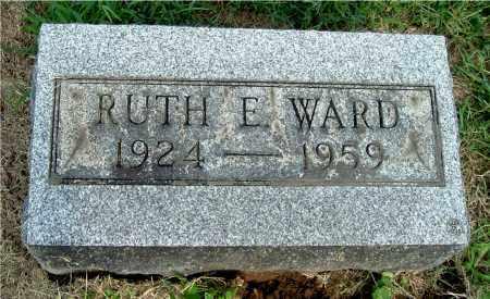 WARD, RUTH E - Gallia County, Ohio   RUTH E WARD - Ohio Gravestone Photos