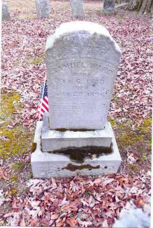 WARD, SAMUEL - Gallia County, Ohio | SAMUEL WARD - Ohio Gravestone Photos