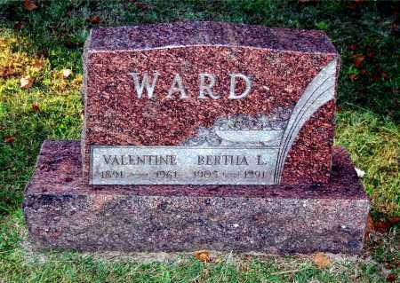 WARD, BERTHA L - Gallia County, Ohio | BERTHA L WARD - Ohio Gravestone Photos