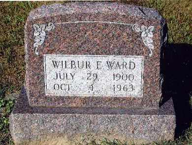WARD, WILBUR E - Gallia County, Ohio | WILBUR E WARD - Ohio Gravestone Photos