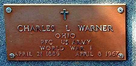WARNER, CHARLES L - Gallia County, Ohio | CHARLES L WARNER - Ohio Gravestone Photos