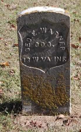 WARNER, GEO E - Gallia County, Ohio   GEO E WARNER - Ohio Gravestone Photos