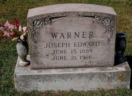 WARNER, JOSEPH EDWARD - Gallia County, Ohio   JOSEPH EDWARD WARNER - Ohio Gravestone Photos