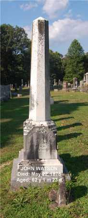 WATSON, JOHN - Gallia County, Ohio | JOHN WATSON - Ohio Gravestone Photos