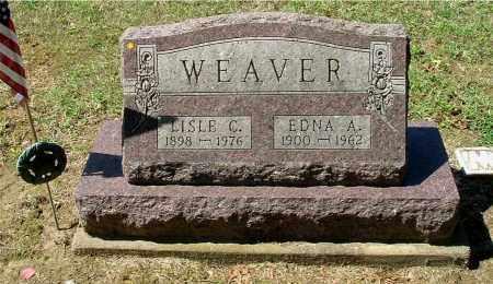 WEAVER, EDNA A - Gallia County, Ohio | EDNA A WEAVER - Ohio Gravestone Photos