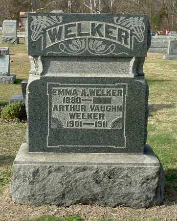 WELKER, ARTHUR VAUGHN - Gallia County, Ohio   ARTHUR VAUGHN WELKER - Ohio Gravestone Photos