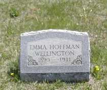 HOFFMAN WELLINGTON, EMMA - Gallia County, Ohio | EMMA HOFFMAN WELLINGTON - Ohio Gravestone Photos