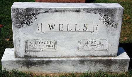WELLS, EDMOND - Gallia County, Ohio | EDMOND WELLS - Ohio Gravestone Photos